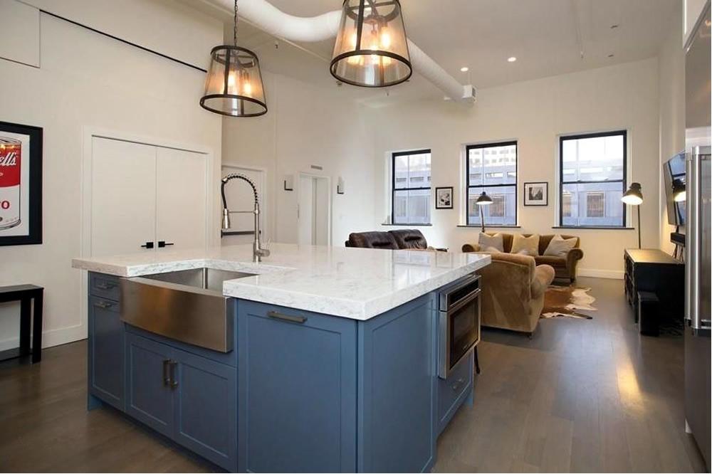 Kitchen renovation devonshire street boston cabinets for Kitchen design showrooms boston